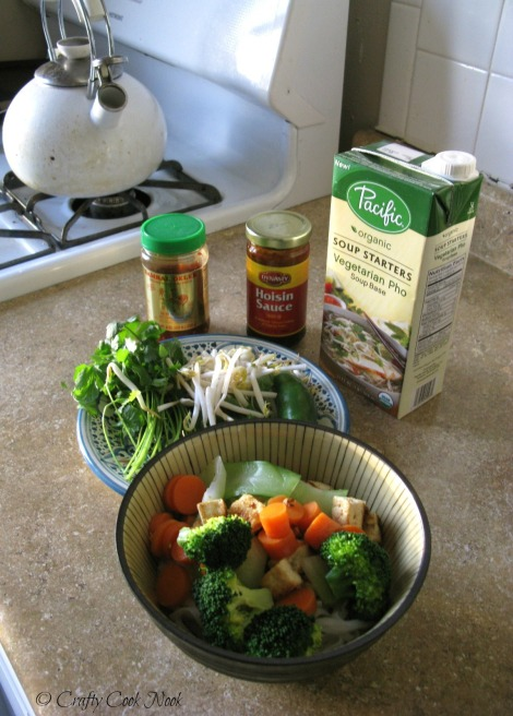 CraftyCookNook Vegetarian pho recipe