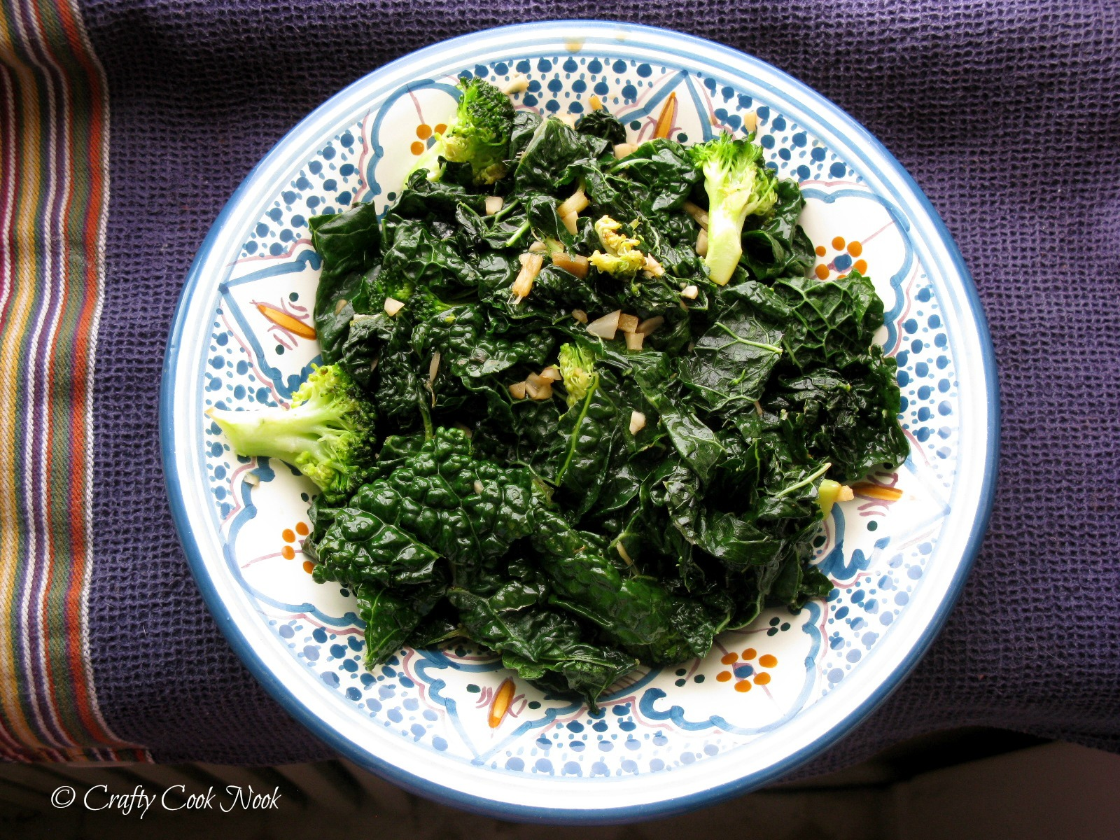 You're Kale-ing Me!: Sesame Ginger Kale Sauté | The Crafty Cook ...