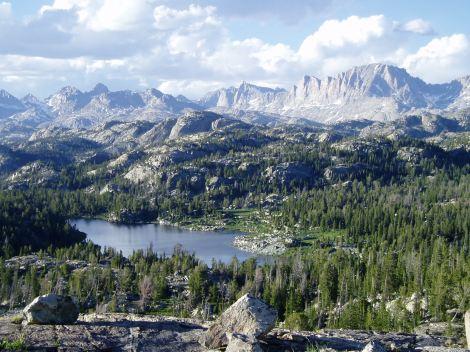 Wind River Range, Wyoming. Image courtesy of brosz