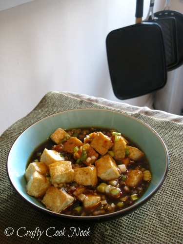 vegan tofu recipe