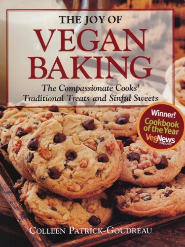 joy of vegan baking cookbook