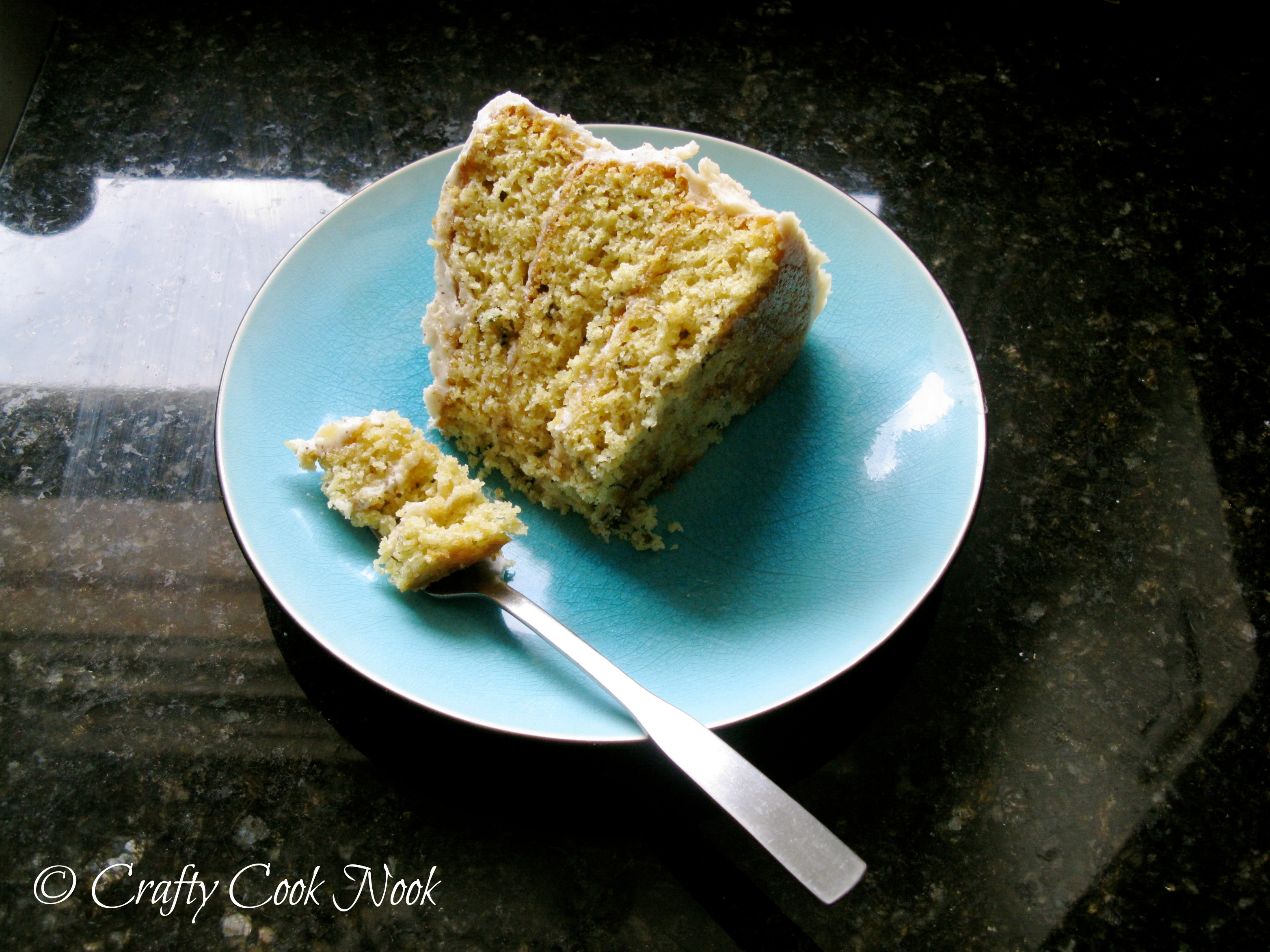 Rosemary Corn Cake with Honey & Brown Butter Frosting: Cake So Good ...