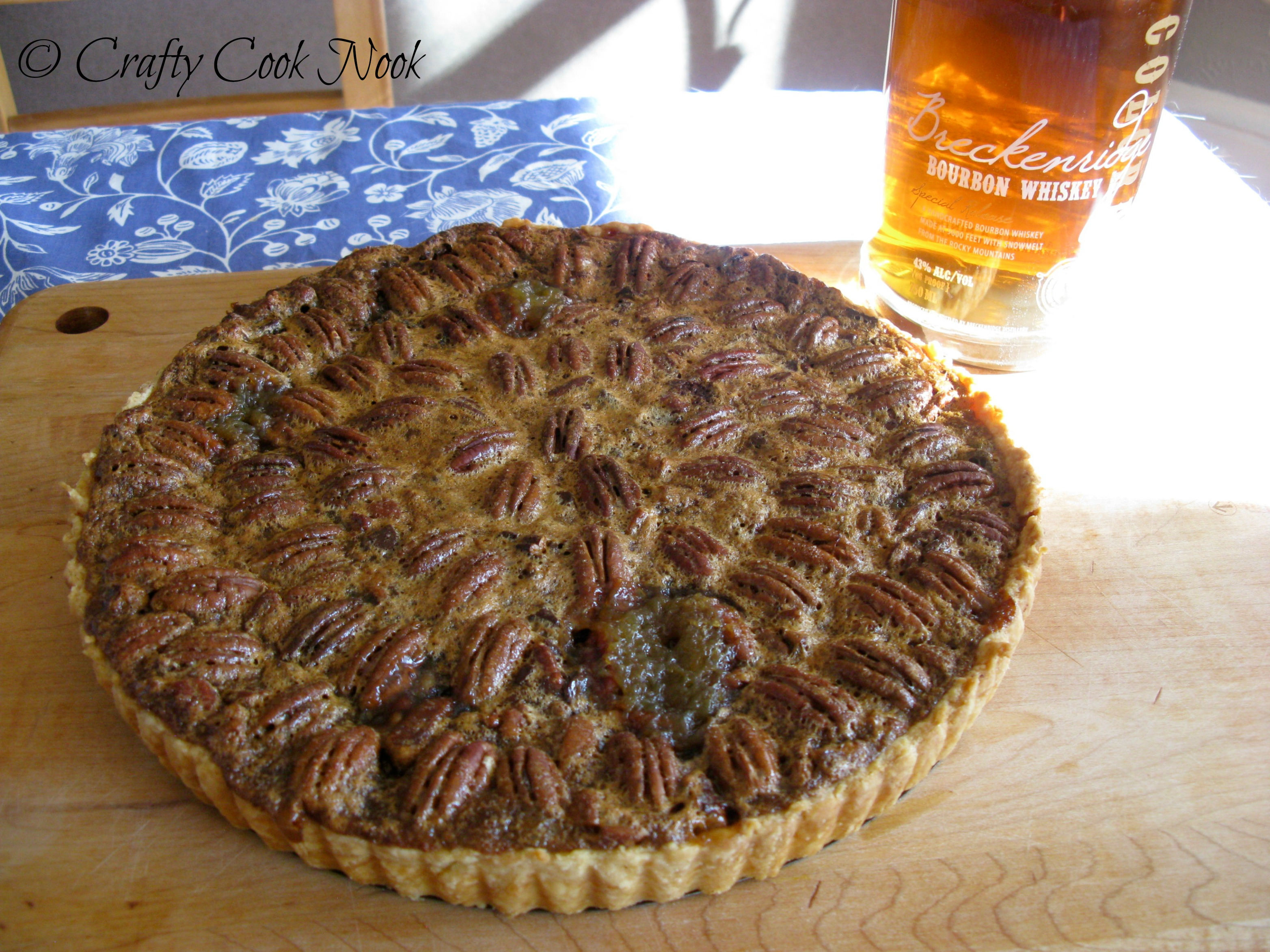 Pecan and Chocolate Tart with Breckenridge Bourbon Whipped ...