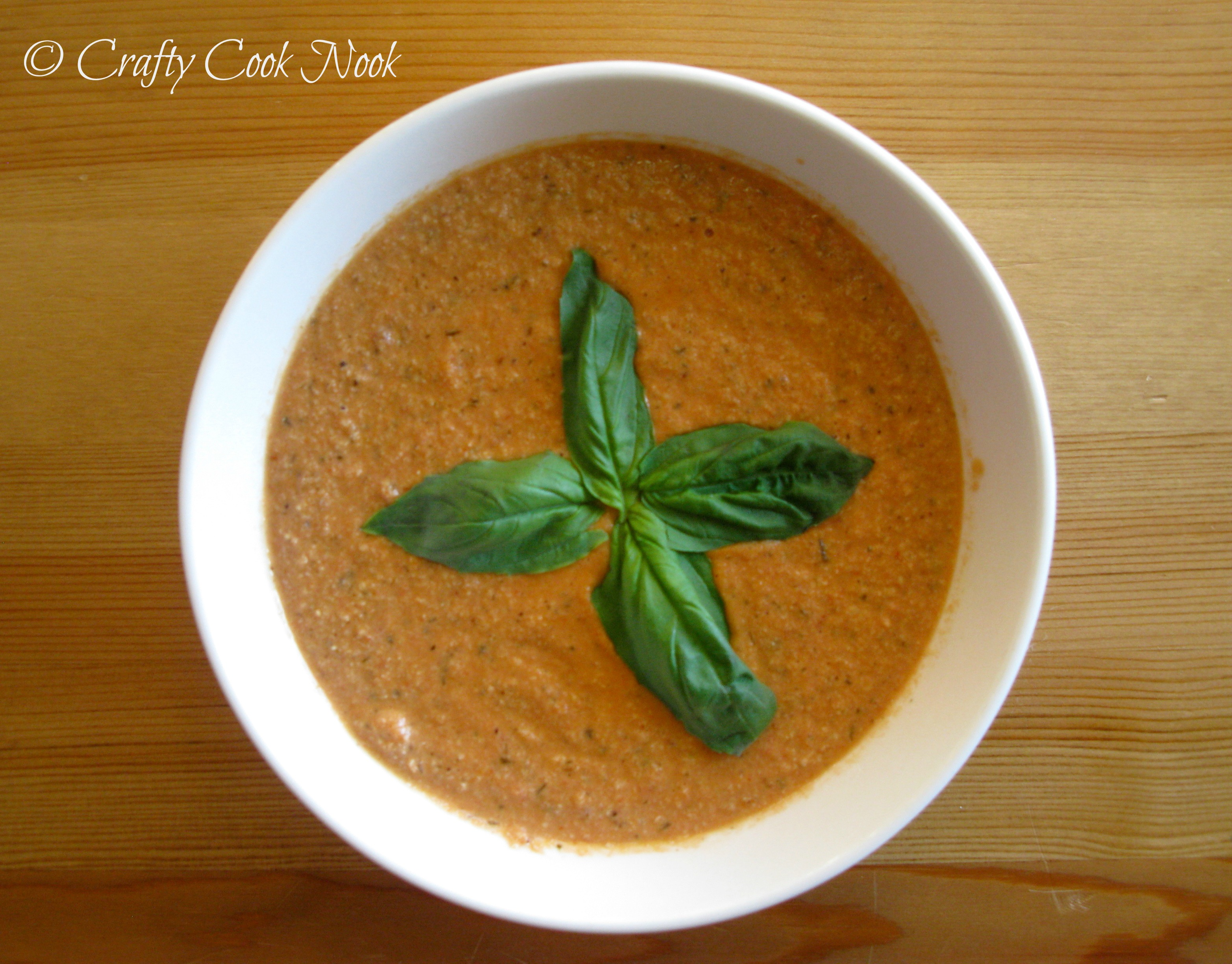 Cashew Tomato Soup Recipe — Dishmaps