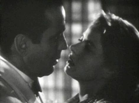 Casablanca. Wiki Commons image.  Trailer screen shot.