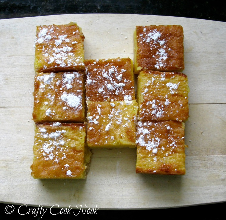 ridiculously delicious whole lemon bars recipe