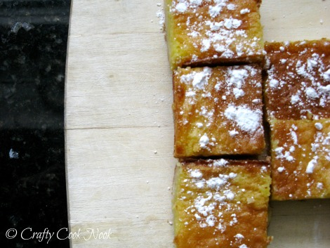 whole lemon bars recipe