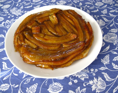 Butterscotch Banana Tarte Tatin