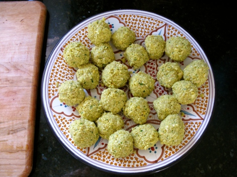 Made-from-scratch Falafel