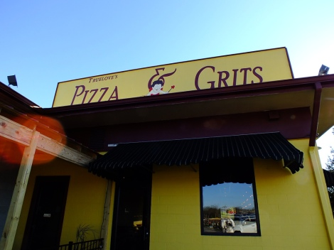 Pizza AND Grits?!? Brain officially blown. Creative Commons Image. Credit: Michael Brown.