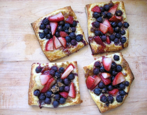 Summer Fruit Puff Pastry Tart