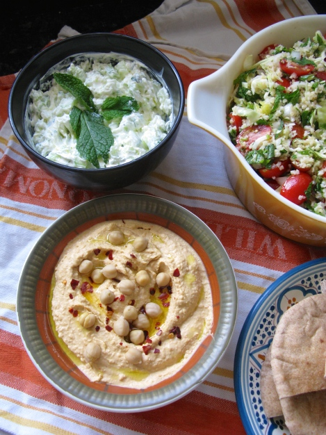 Sweet and Tangy Hummus