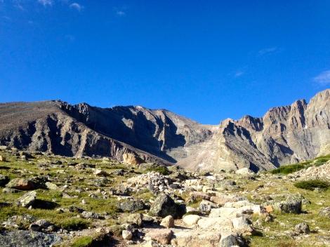 Long's Peak Chasm Lake.