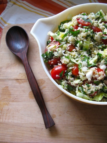 Tomato and Cabbage Tabbouleh