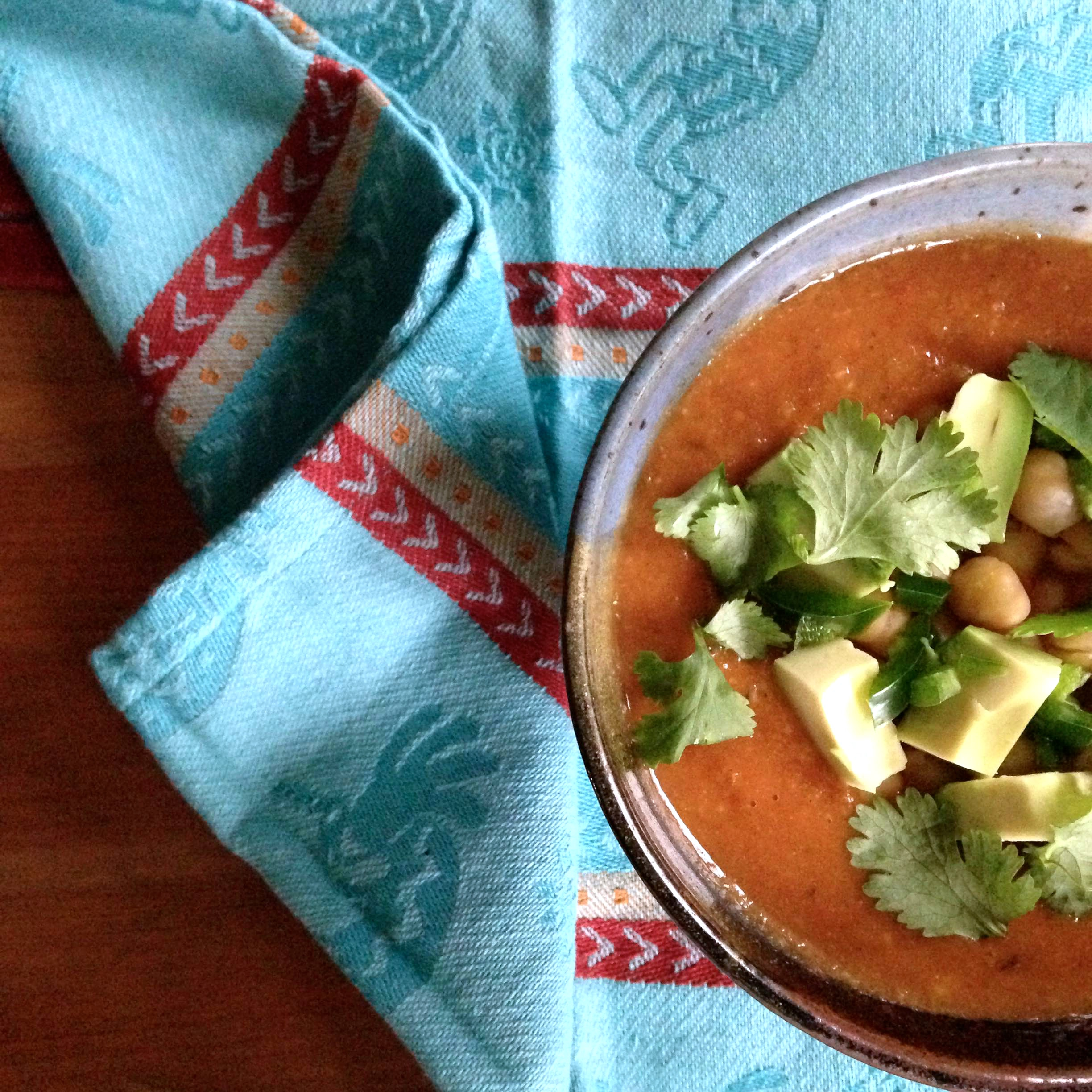Gray Winter Writing Day\' Tortilla Soup – The Crafty Cook Nook