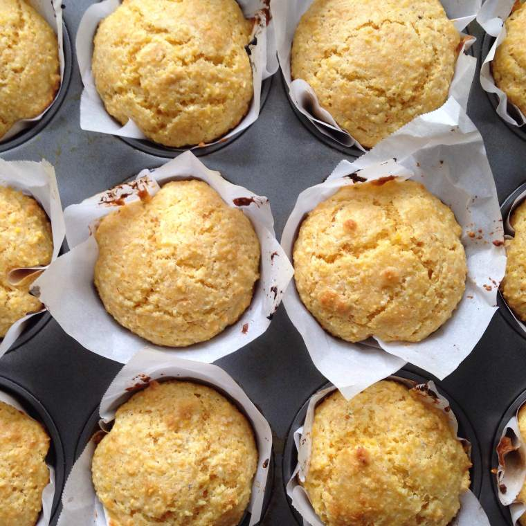 Hearty Corn Muffins