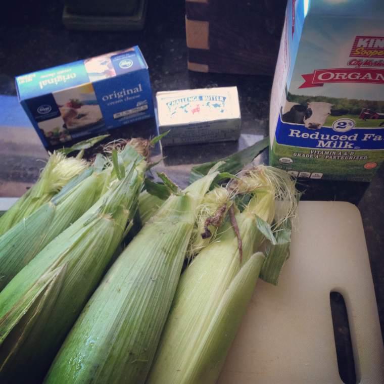CCN Creamed corn ingredients