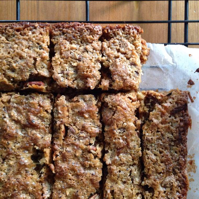 Double-Layer Coconut Pecan Bars