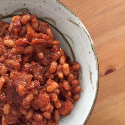 Apple Baked Beans 1